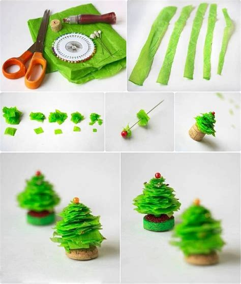 mini xmas tree diy pinterest
