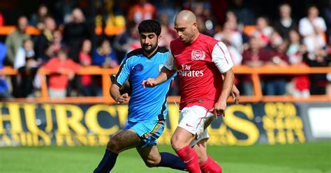 Arsenal Riza | who is omer riza the former arsenal player managing