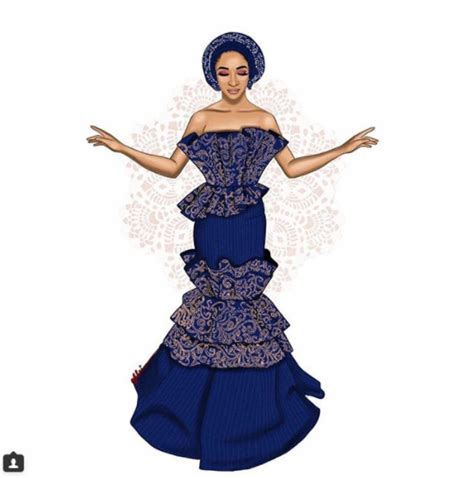 adesua etomi outfits adesua etomi traditional wedding outfits baad2017 fabwoman