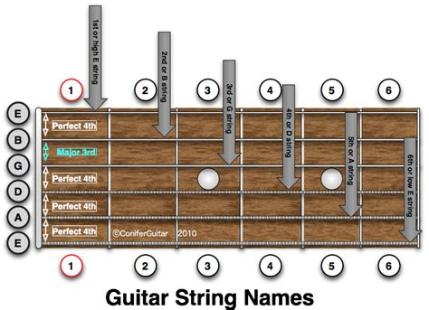 String Names - guitar string names diagram on best free home design