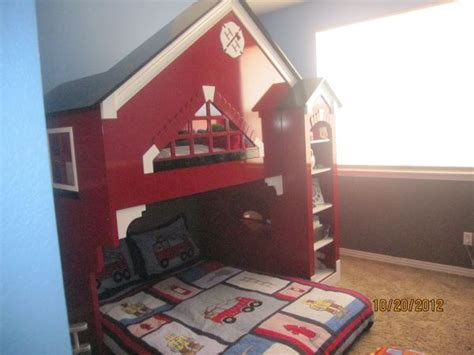 wonderful Bunk Bed Room Ideas #1: 0a05fb776a431a9a3b03c79a89a99cfd--fireman-room-truck-bedroom.jpg