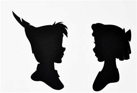 Peter Pan Silhouette Clipart Clipart Suggest Pan Silhouette Template