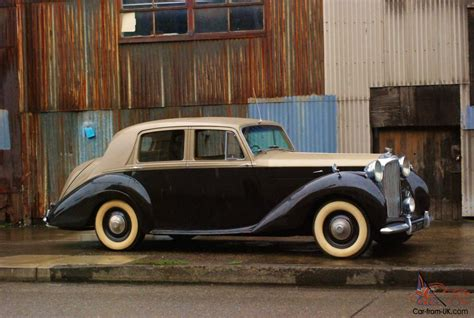 1953 bentley r type specially ordered custom built with