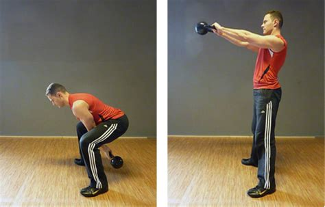 fitness swing tabata training using kettlebell swings vs strength