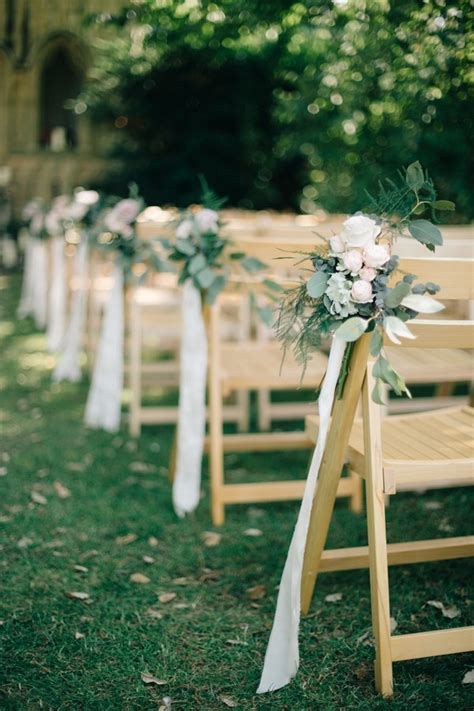 Wedding Ceremony Chair Decorations by 25 Brilliant Garden Wedding Decoration Ideas For 2018