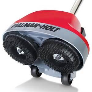 Home Floor Scrubber by The Hard Floor Scrubber With Spray Applicator Hammacher