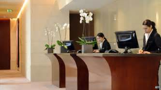 front office desk hold the front desk hotels of the future
