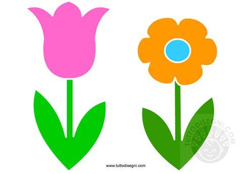 disegni colorati fiori addobbi primavera fiori colorati tuttodisegni