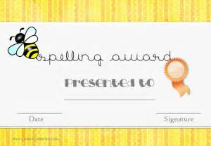 Spelling Bee Award Certificate Template by Free Spelling Bee Certificate Templates Customize