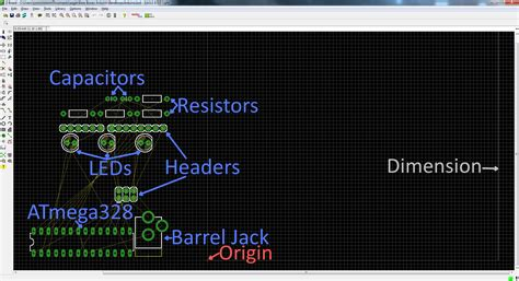 pcb layout editor online using eagle board layout learn sparkfun com