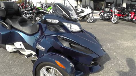 used motor 001316 2011 can am spyder rt s used motorcycle for
