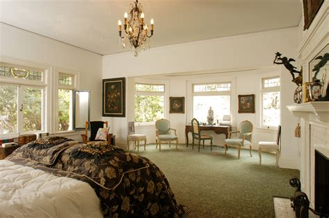 bedrooms in a mansion a view of the master bedroom the american horror story