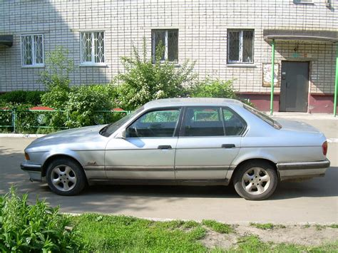 bmw 1990 7 series 1990 bmw 7 series images 3000cc gasoline fr or rr