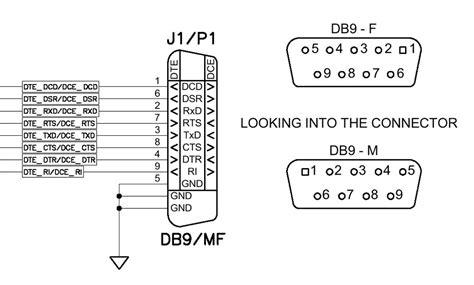 computer serial pinout db9 serial cable pinout