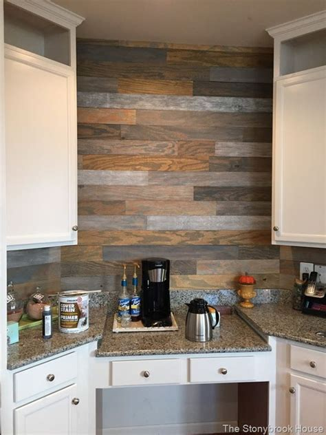 The Very Cheap Plank Wall   For the Home   Pinterest