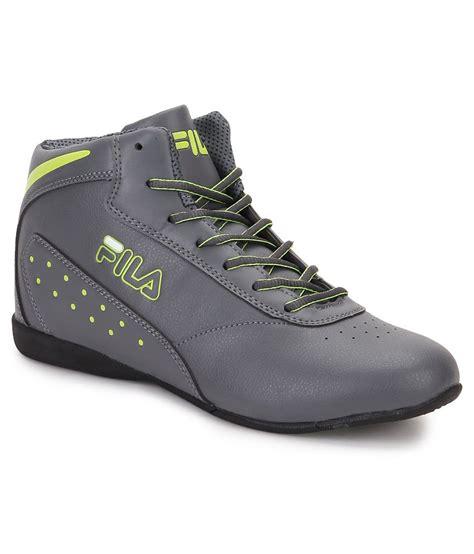 piero shoes fila piero gray casual shoes price in india buy fila