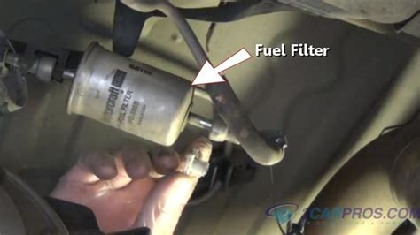 1995 Toyota Corolla Fuel Filter How To Fix An Engine Hesitation In 30 Minutes