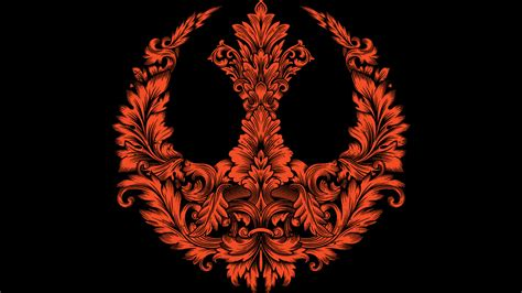 design by humans alliance rebel flourish t shirt by starwars design by humans