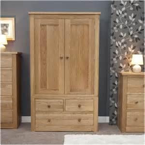 Oak Wardrobe Kingston Solid Modern Oak Bedroom Furniture
