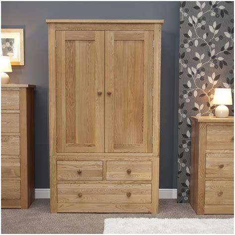 kingston solid modern oak bedroom furniture double wardrobe  drawers ebay