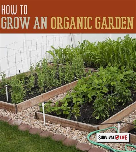 Grow Your Own Organic Garden Survival Life Blog How To Grow An Organic Vegetable Garden