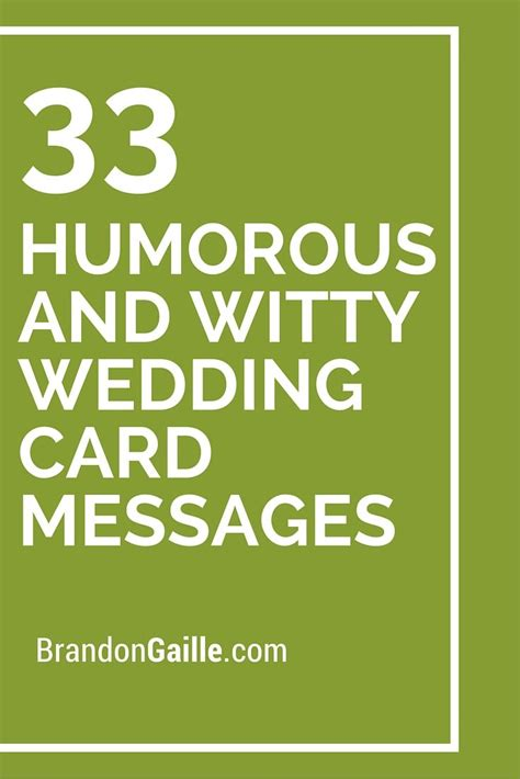 card sayings 35 humorous and witty wedding card messages wedding card