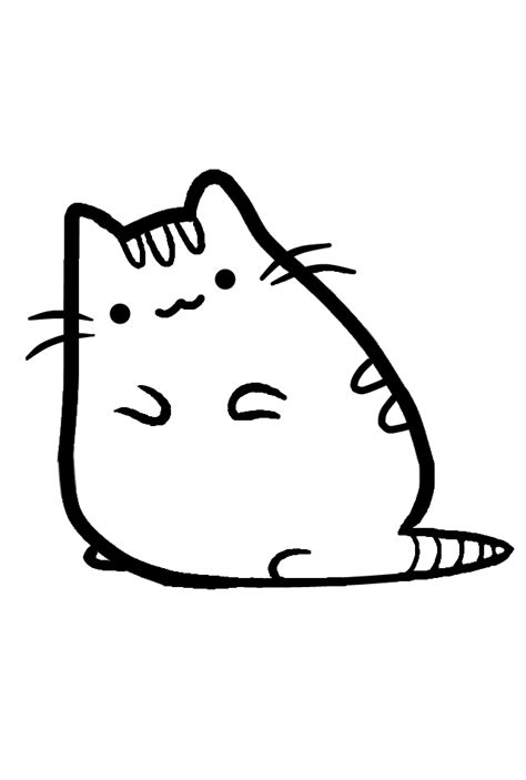 printable coloring pages pusheen pusheen the cat printable coloring pages coloring pages