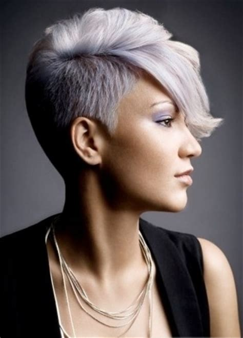 short hair on sides long on top women short back and sides long on top women hair pinterest