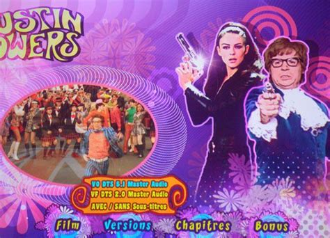 film blu ray c est quoi austin powers r 233 233 dition blu ray 2011 test complet
