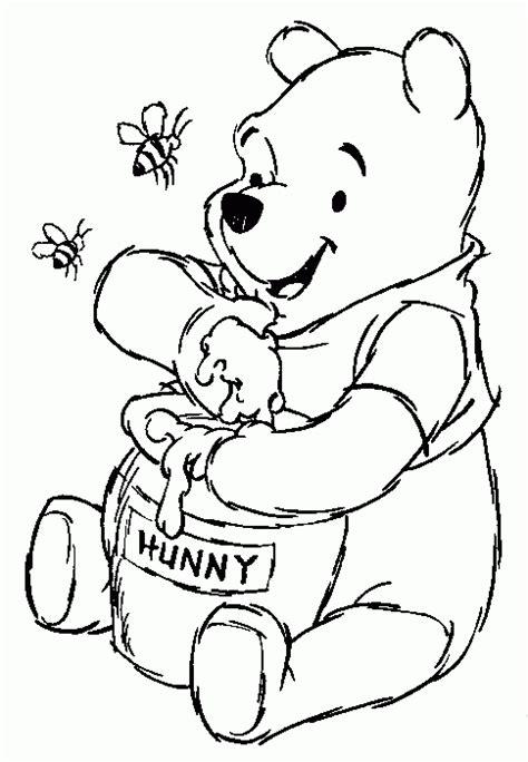 imagenes de oso winnie pooh para colorear dibujos para pintar de winnie the pooh dibujos para