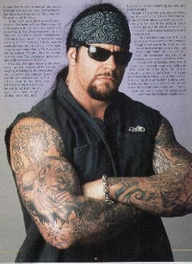 tattoo on undertakers neck undertaker tattoos fimho