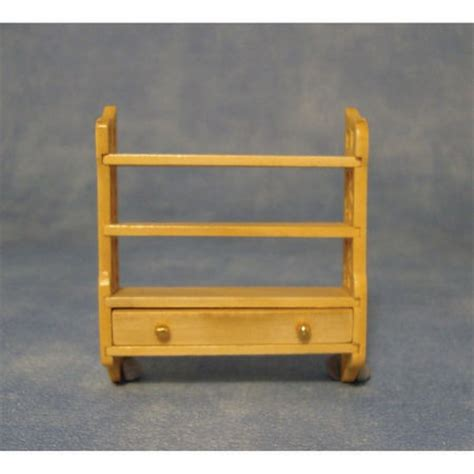 small wall shelf unit for dolls house df282p