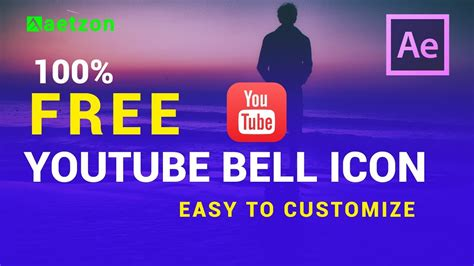 Youtube Bell Icon Intro Template Download After Effects Youtube Subscribe Template Youtube Bell Icon Intro Template After Effects