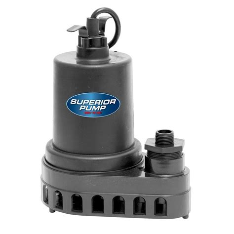 Submersible Inoto superior 1 2 hp submersible thermoplastic utility shop your way shopping