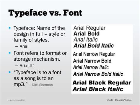 font design workflow typeface vs font typeface