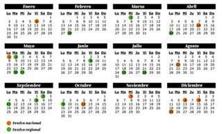 Calendario 2018 Fiestas Nacionales Calendario Festivos 2017 Clubrural