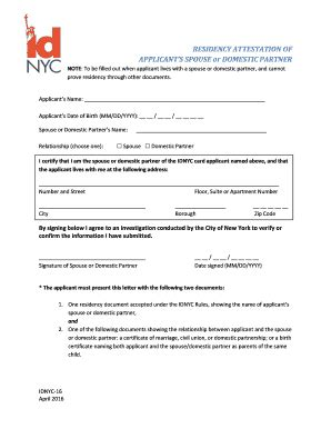 Idnyc Documents