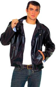 boys greaser costume black leather 50 s greaser jacket black leather fancy dress