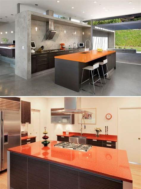 Orange Color Kitchen Design Orange Countertops Color Orange Pinterest Countertops And Design