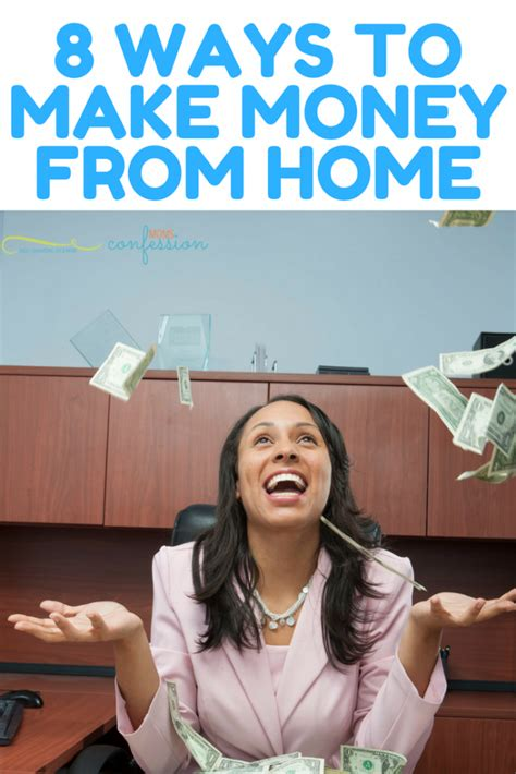8 ways to make money from home