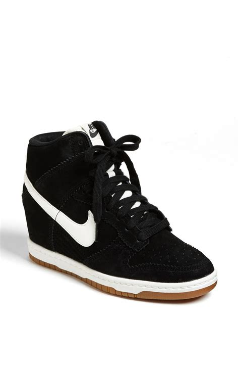 Nike Wedges White nike wedge sneakers black and white provincial archives