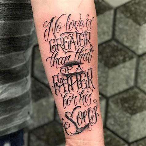 Fatherhood Tattoo Quotes