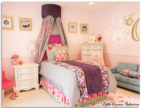 big girl bedroom quot the doctors quot tv bedroom makeover by little crown