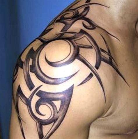 tattoo shoulder cap ideas 52 most eye catching tribal tattoos