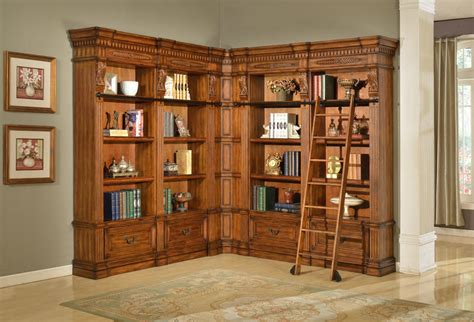 large corner bookcase furniture granada museum corner bookcase large