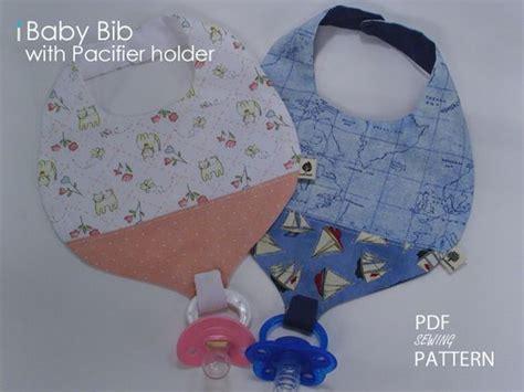 pattern for pacifier holder bib pacifier bib pattern 170 jamie baby bib pdf pattern