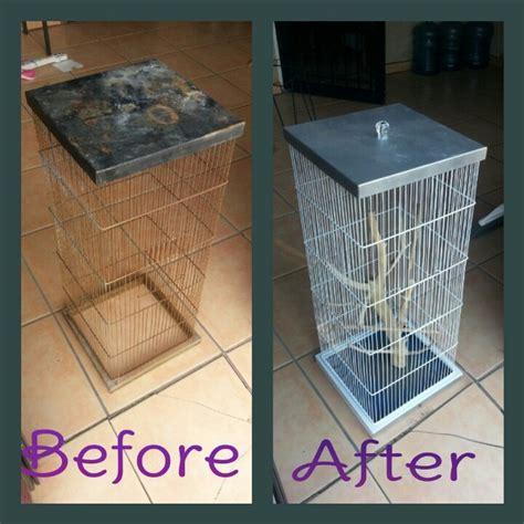 bird cage reved redone birdcage diy backyard birding