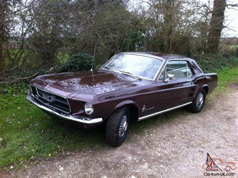 1967 ford mustang specs 1967 ford mustang coupe specs