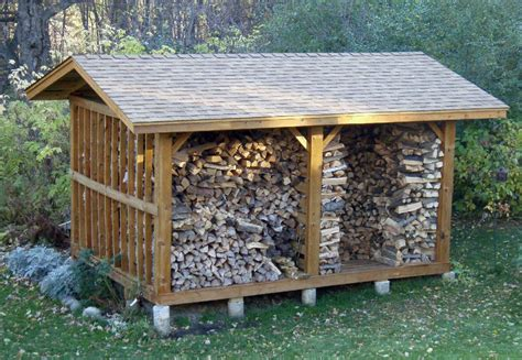 firewood wood shed plans wood buildings const