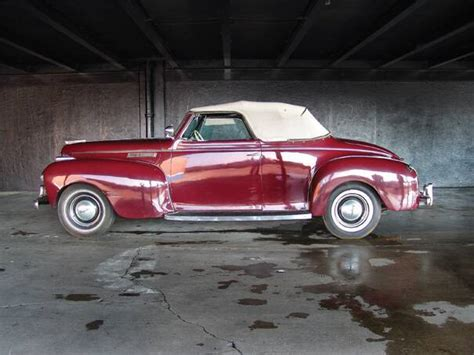 1941 Chrysler New Yorker by 1941 Chrysler New Yorker Convertible Coupe Aucton